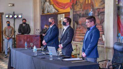 El Concejo sesionó en la Casa de la Cultura de Villa Gobernador Gálvez.